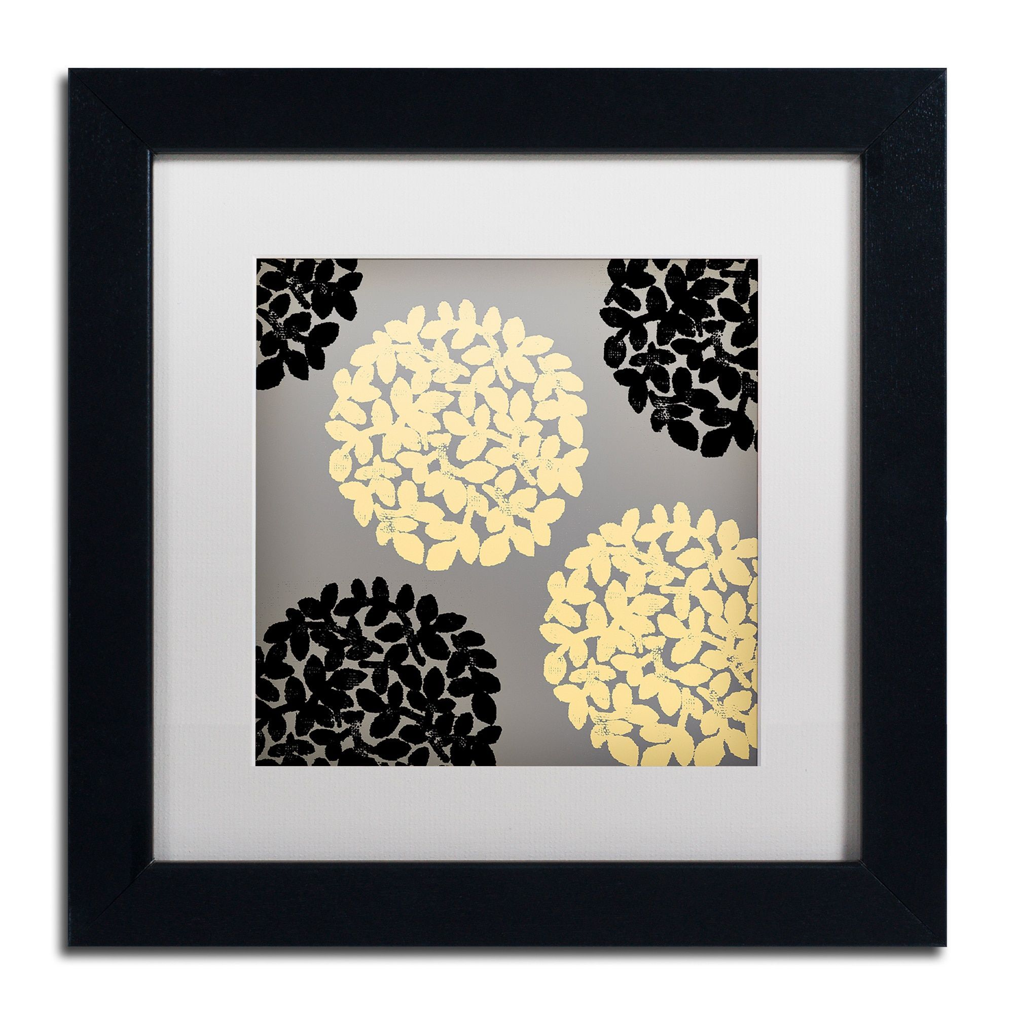 Color Bakery \'English Garden VI\' Matted Framed Art   Products ...