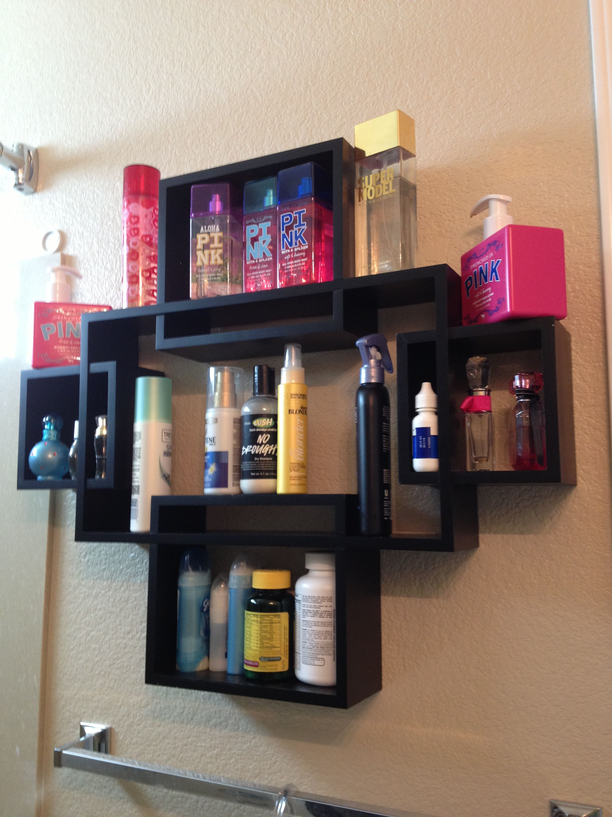 Use box wall shelves to make some space on your sink or in ...