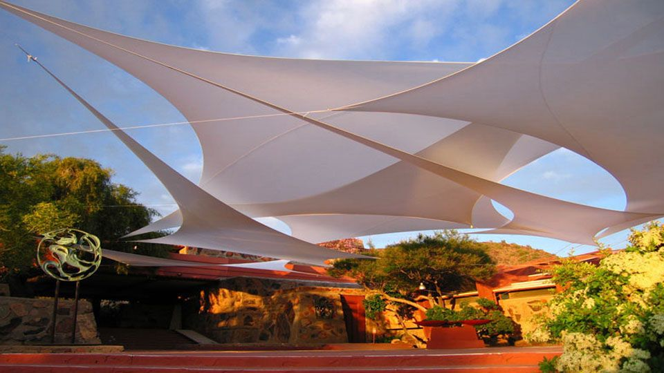 Guildworks Architecture Of The Air Fabric Architecture Shade