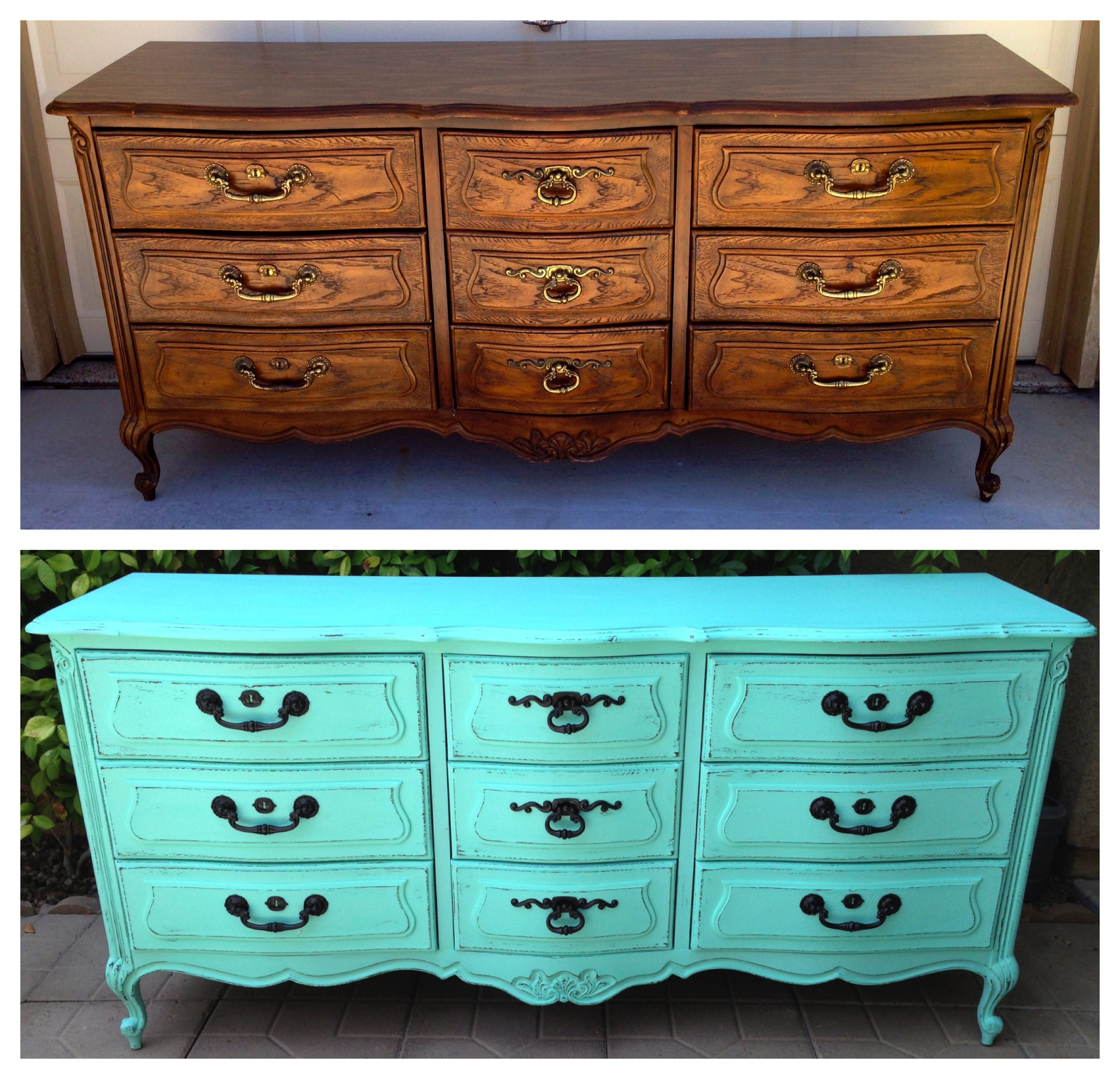 Painting Bedroom Furniture Before And After Wwwfacebookcom Vintage Shabby Refinished Painted Before