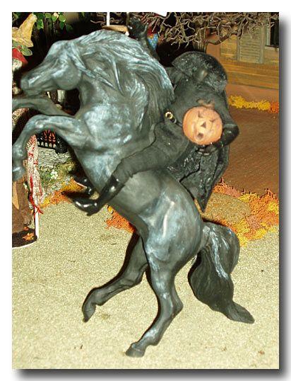 making miniture halloween scenes certain Skeleton Butcher - halloween scene setters decorations