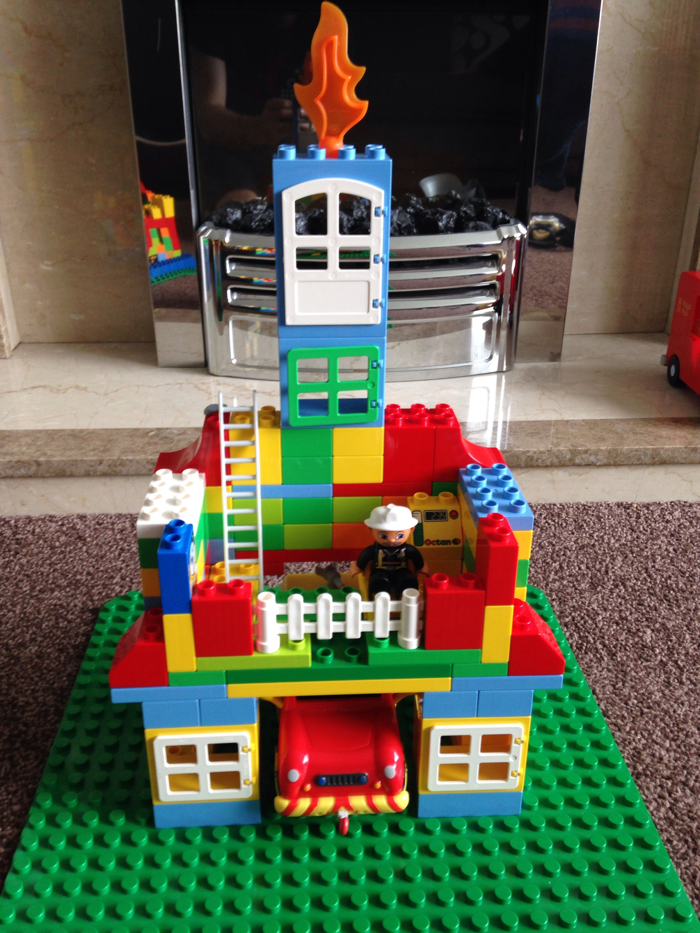 Fire Station By Sarah
