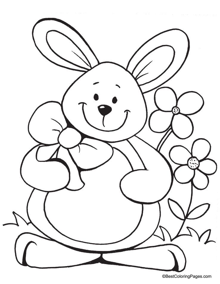Happy easter coloring page Download Free Happy easter coloring