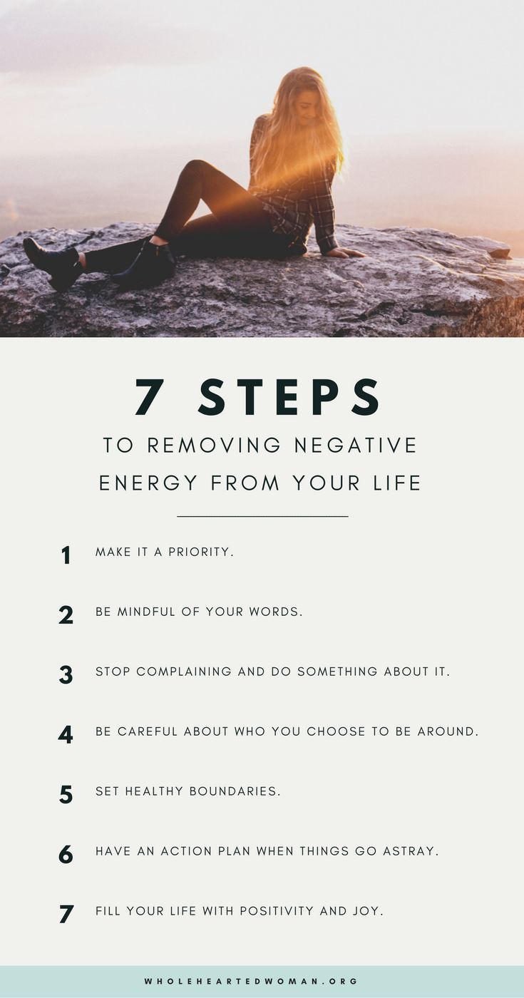 7 Steps To Removing Negative Energy From Your Life — molly ho studio