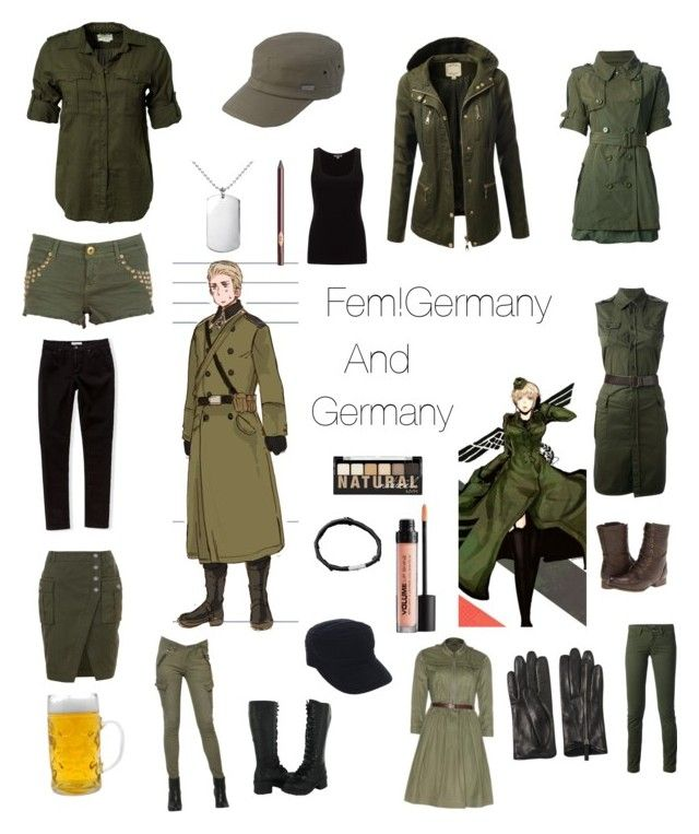 Casual Cosplay- Germany and Fem!Germany- Hetalia (With ...
