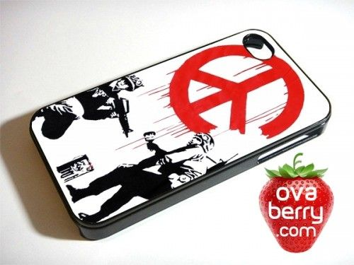Peace Symbol Graffiti Iphone And Samsung Galaxy Phone Case