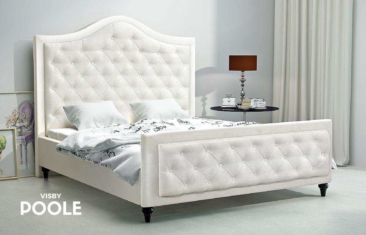 łóżko Tapicerowane Visby Poole łóżko Nowoczesne