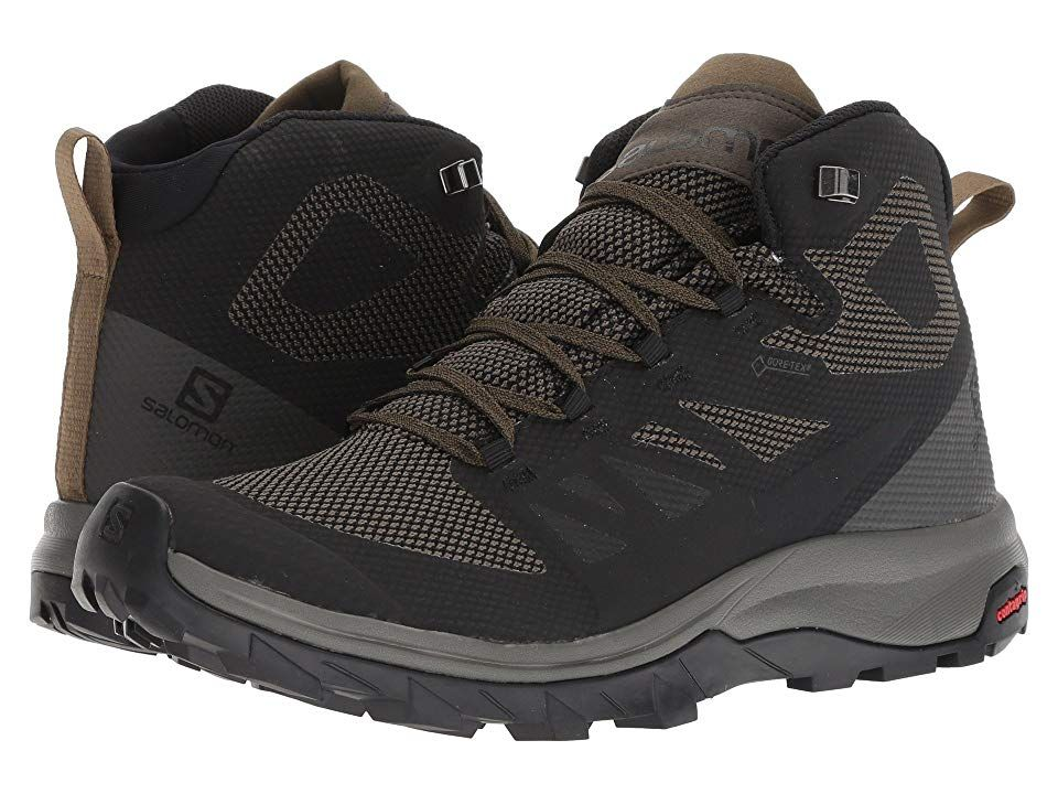 Salomon Outline Mid GTX(r) Men's Shoes BlackBelugaCapers