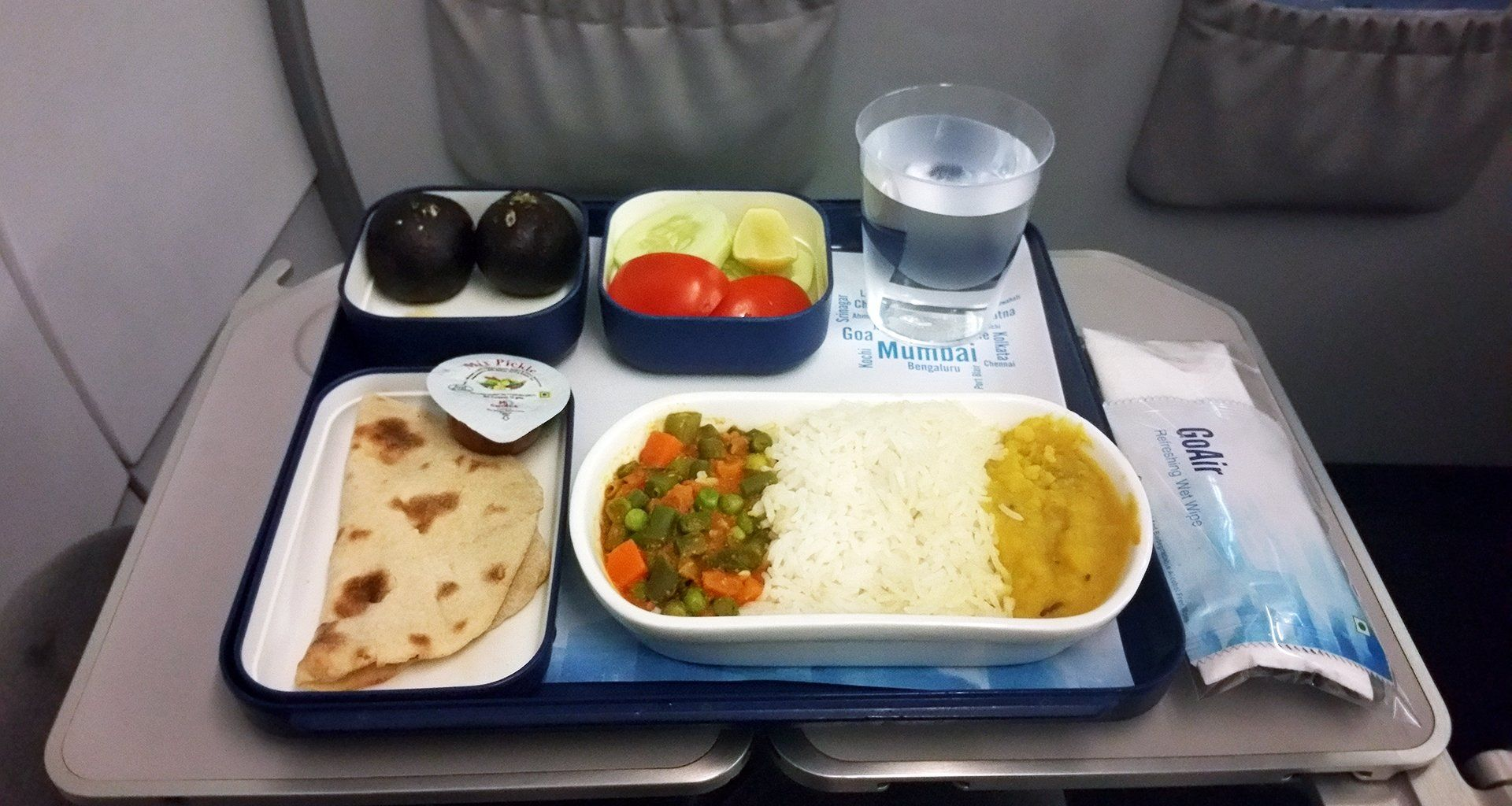 Go Air India Airline food, Food, Meals