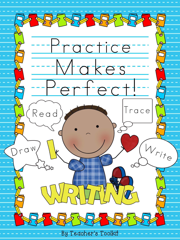 Handwriting Practice For Kindergarten And 1st