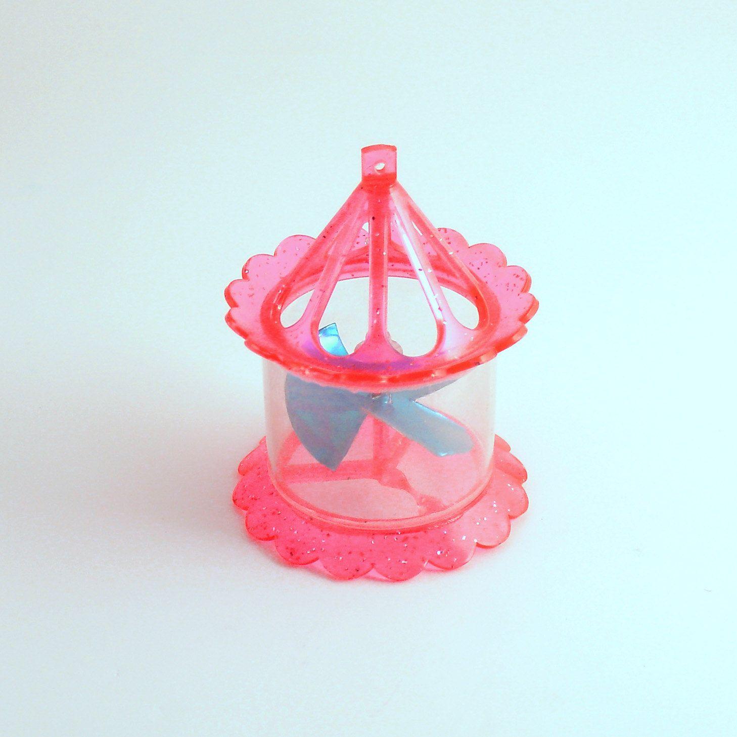 Vintage Christmas Ornament Twirling Spinner Twinkler Mid