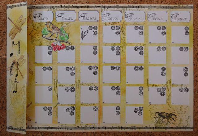 Calendar Art Journal : Art journaling calendar things to make pinterest