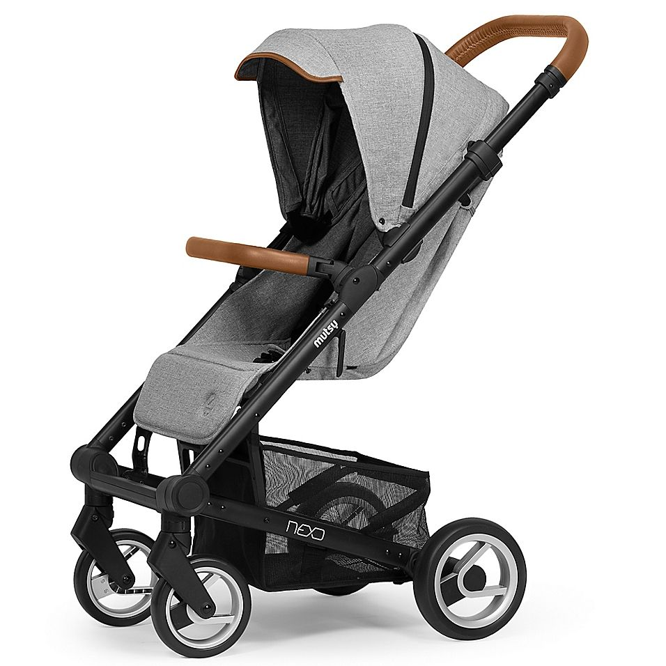 Mutsy Nexo Stroller in Mist Melange (With images