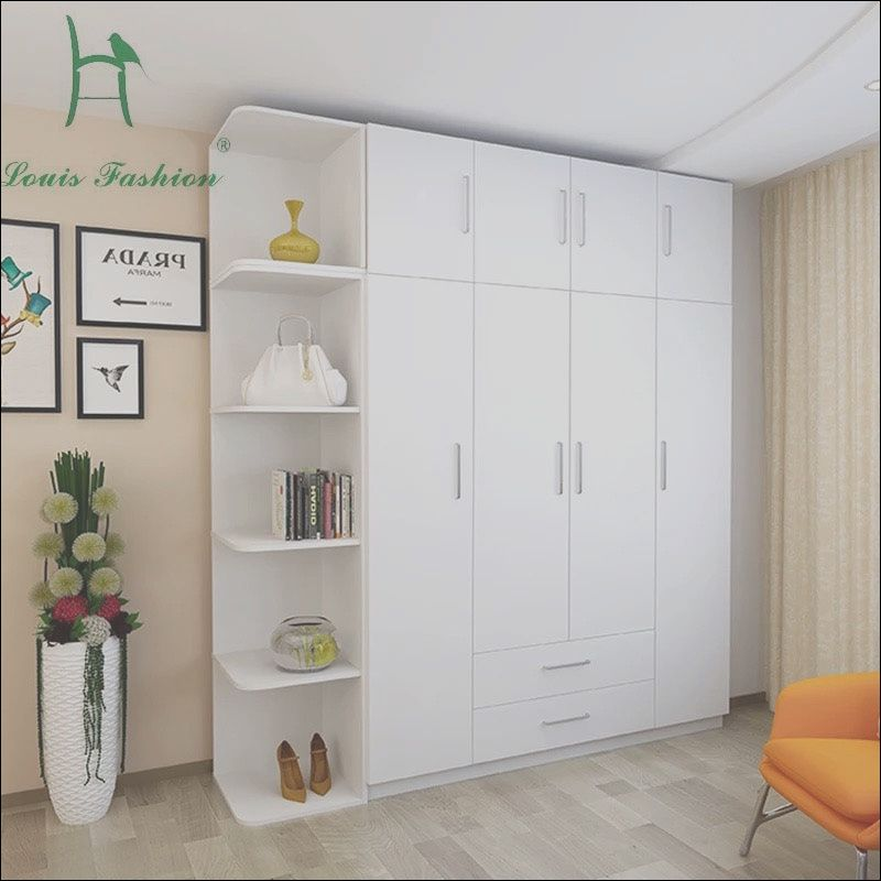 11 Latest Bedroom Cabinet Design Ideas for Small Spaces ...