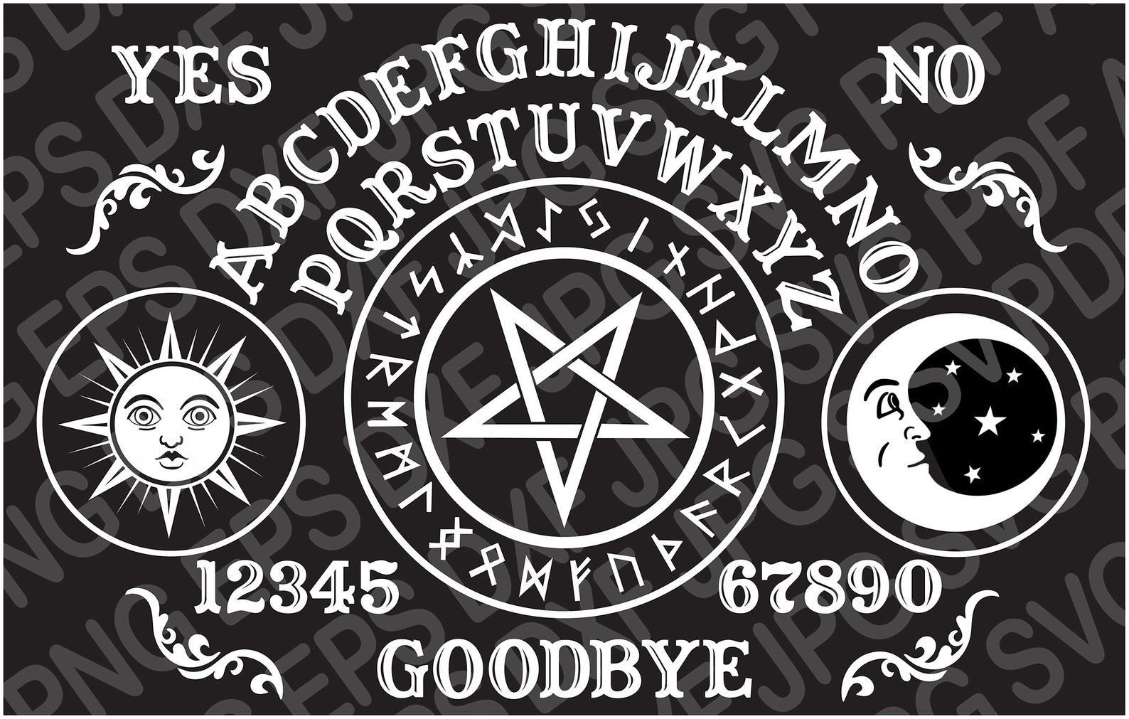 The History Of The Ouija Board Ouija Ouija Board Halloween Labels