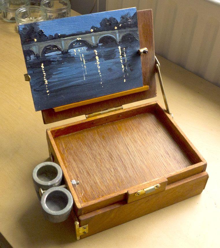 pochade, plein air Pochade box, Art easel, Art materials