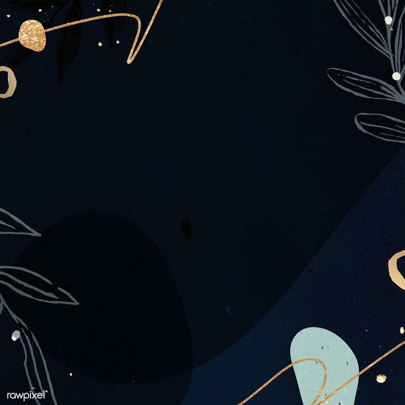 Download Premium Illustration Of Abstract Dark Tone Memphis Patterned ด เด ลอาร ท