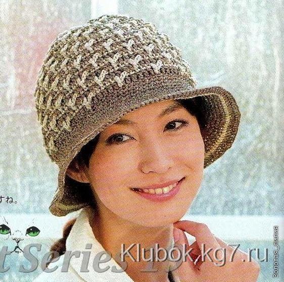 Patrones de crochet para sombreros de verano para la playa | Gorros ...