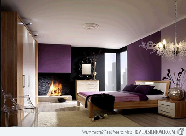 Black Added To This Purple /neutral Scheme Purple Color Schemes Teenage  Bedrooms Ideas Pictures