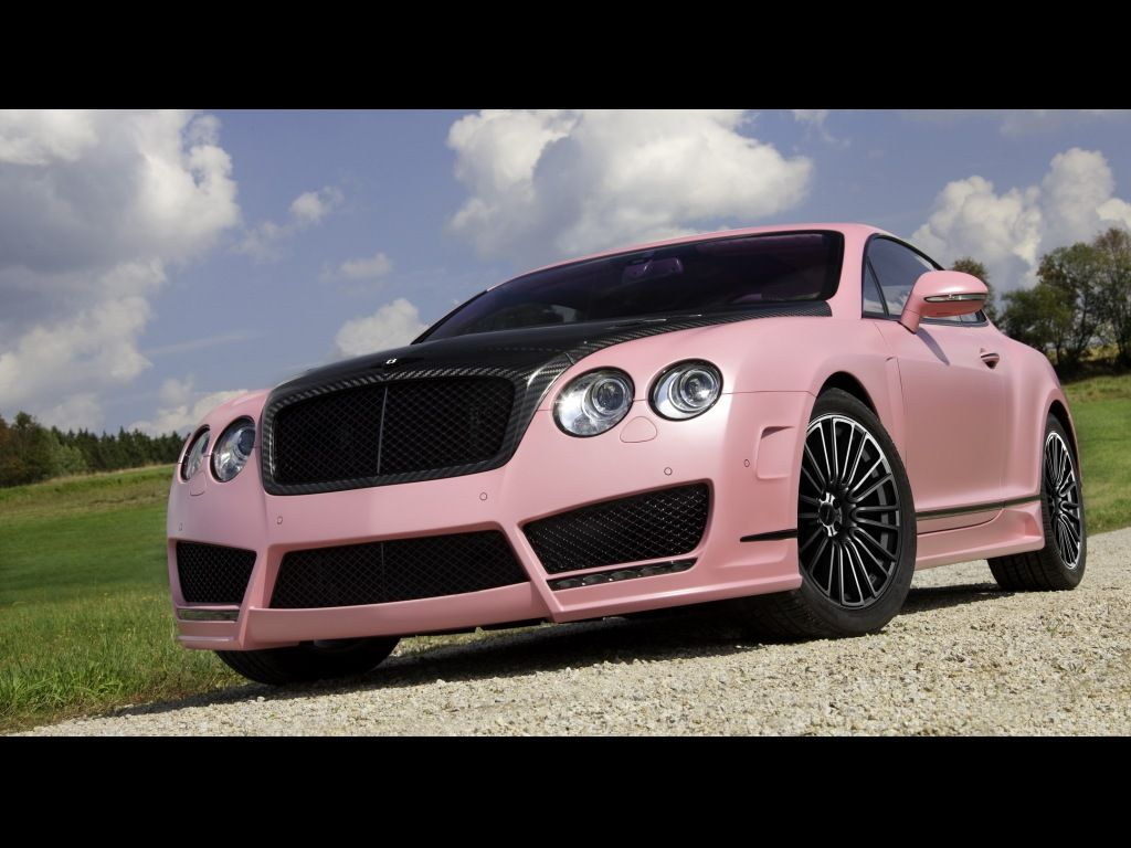 Mansory Vitesse Rose Based On Bentley Continental Gt Speed Photos