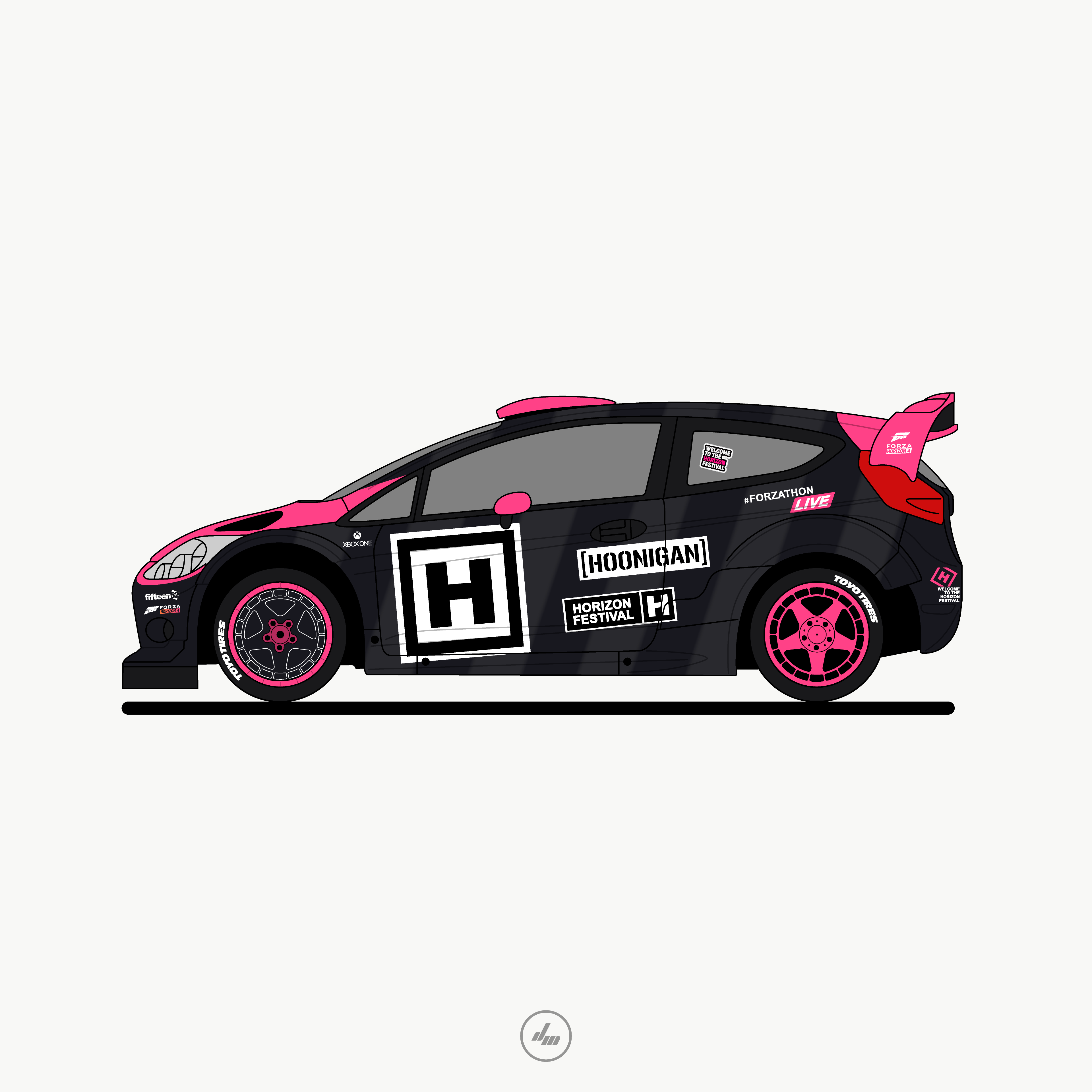 Check Out This Behance Project Ford Fiesta Rx Livery Https Www Behance Net Gallery 76109491 Ford Fiesta Rx Livery Ford Fiesta Ford Automotive Design