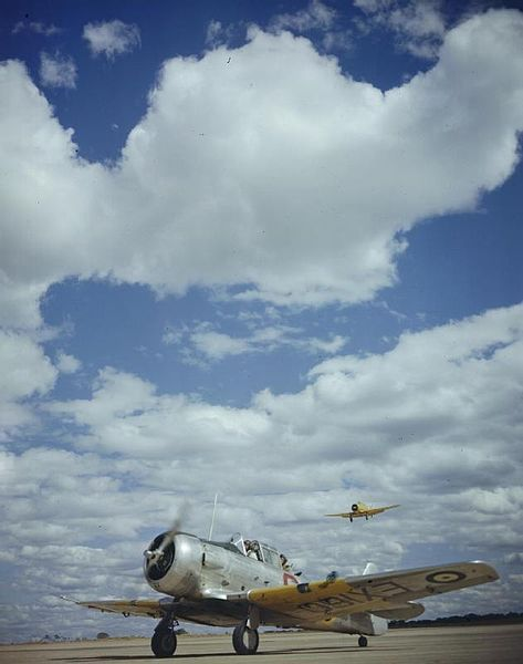 Commonwealth Joint Air Training Plan, No 20 Service Flying Training School, Cranborne, Near Salisbury, Rhodesia, January 1943 North America...