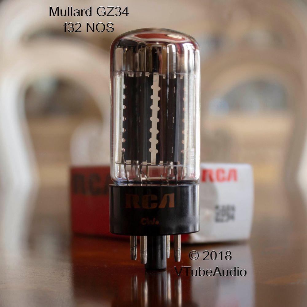 Vacuum Tubes 4 Brand New Tung-Sol Reissue 5AR4 GZ34 Rectifier MATCHED QUAD