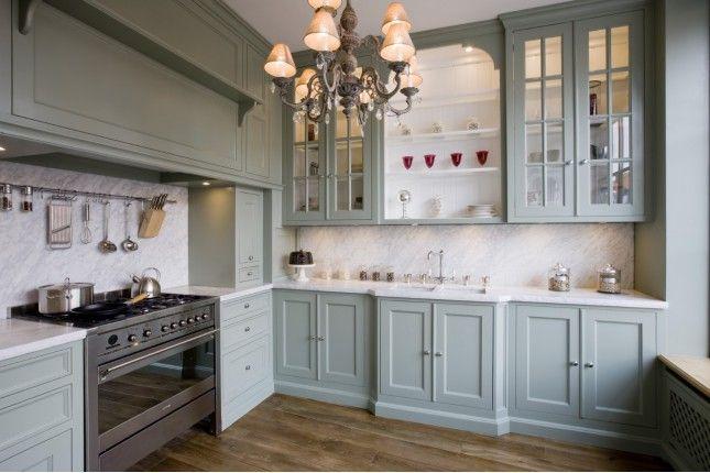 Cuisine verte #style #interior #deco #cottage #interiordesign