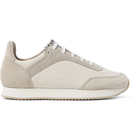 cd7a47e6fc89 SPALWART Tempo Suede and Canvas Sneakers.  spalwart  shoes  sneakers ...