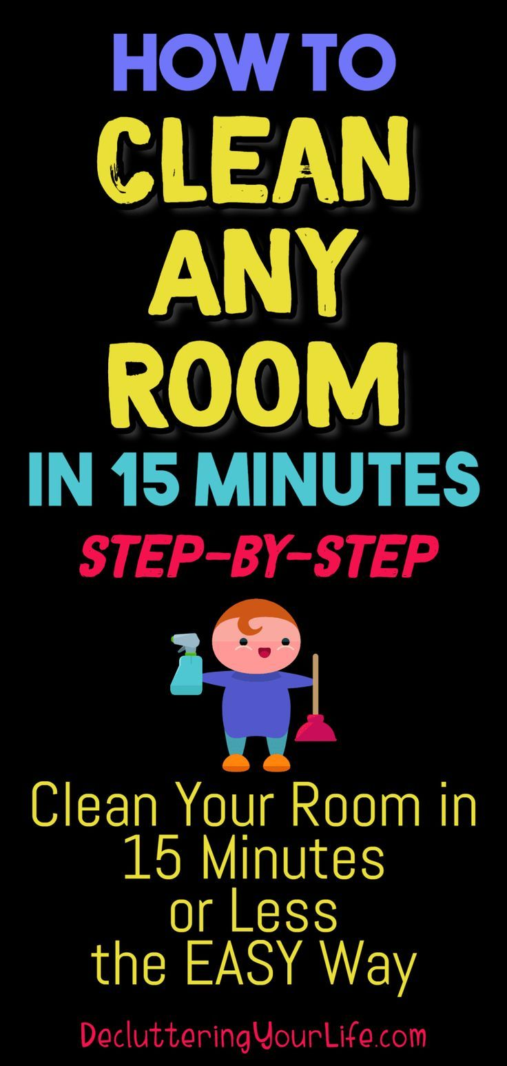 How to declutter any room in 15 minutes flat cleaning - How to declutter your bedroom fast ...
