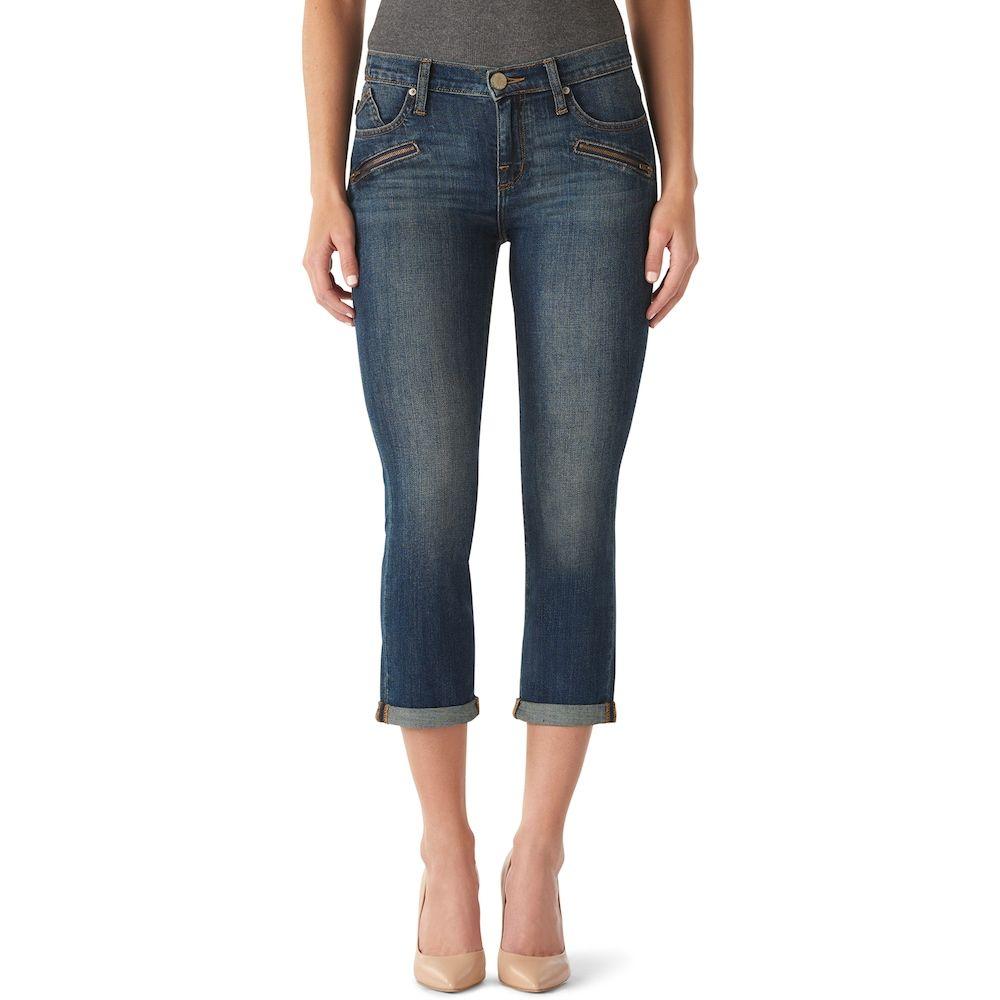 a62d680883 Women's Apt. 9® Tummy Control Bermuda Midrise Jean Shorts | Products ...
