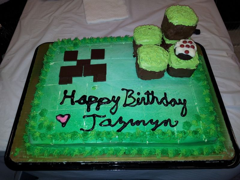 Cake Ideas Minecraft : minecraft cake ideas on Pinterest Minecraft, Minecraft ...