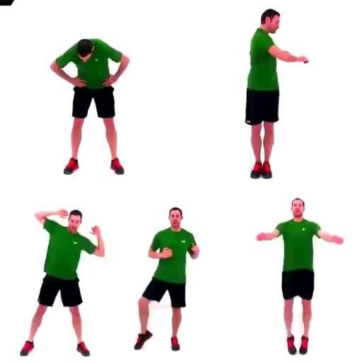 تمارين احماء قبل التمرين كل تمرين دقيقه على ثلاث جولات Video Flexibility Workout Fitness Workout For Women Gym Workout For Beginners