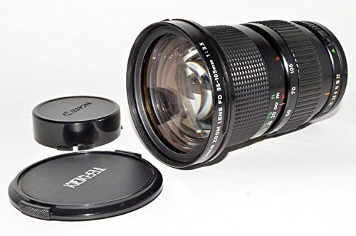 Amazon Com Canon Fd 35 105 Mm F3 5 Mf Macro Zoom Lens Digital Slr Camera Lenses Camera Photo Zoom Lens Canon Lens Lenses