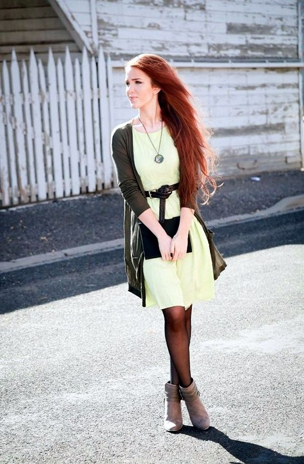 Delightful Classy Fashion Outfits For Redheads 32
