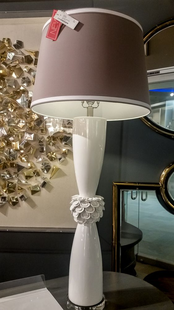 New Introduction Shown At Las Vegas Market The Tranquillo Table Lamp By Sterling Dimond