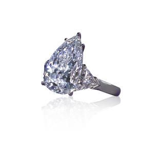 A diamond solitaire ring, Graff Sold for US$ 278,500 inc. premium