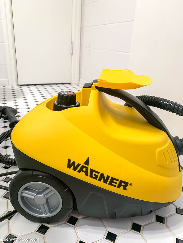 How to use a steam cleaner to clean a bathroom   Bathroom ...
