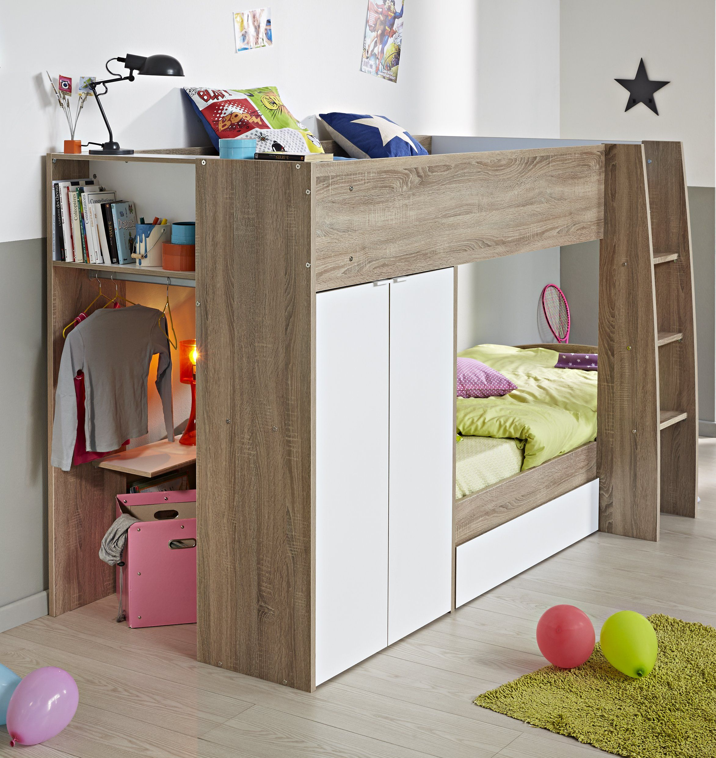 Pictures for kids bedrooms cool kids bedroom bedrooms for Bunk bed bedroom designs