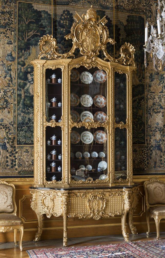 Skåp Italiensk rokoko, Hallwylska museet Meubles louis xv et