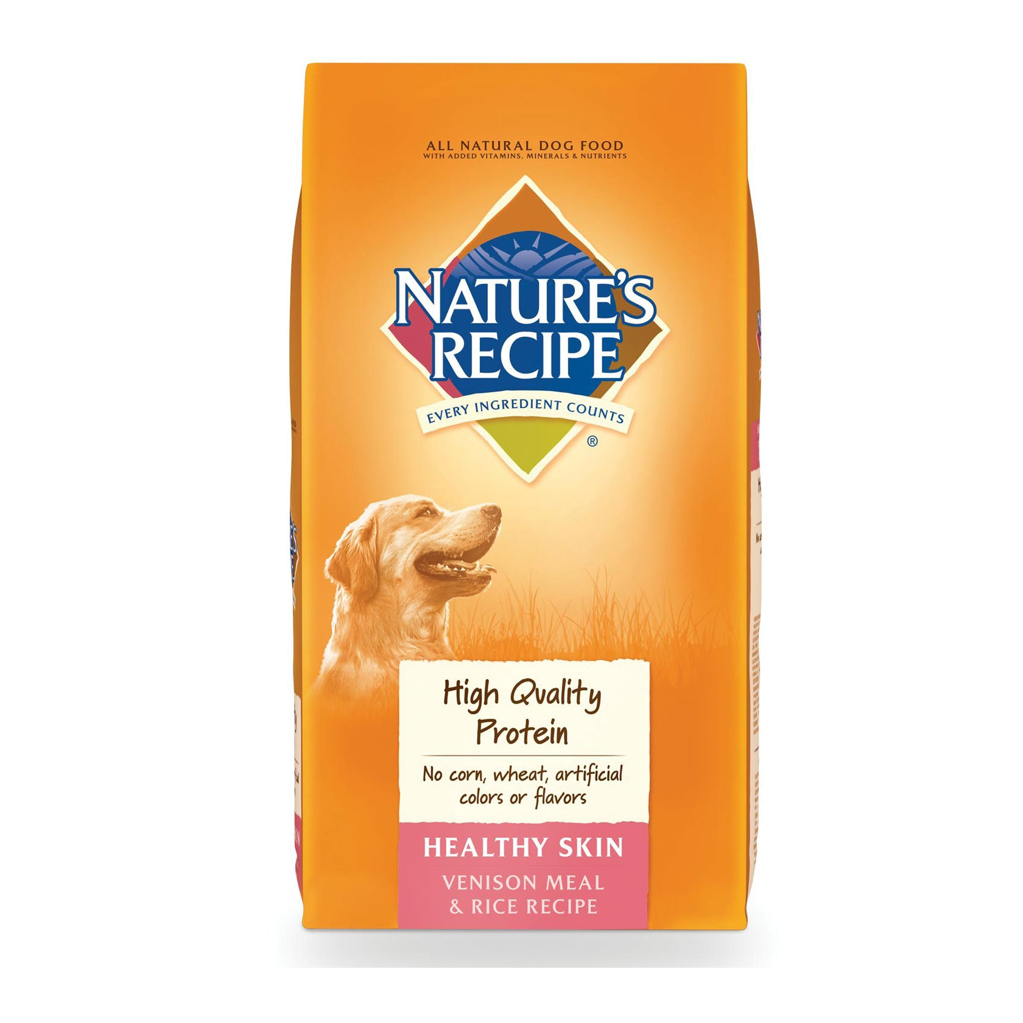 Nature S Recipe Healthy Skin Adult Dog Food Size 30 Lb Barley
