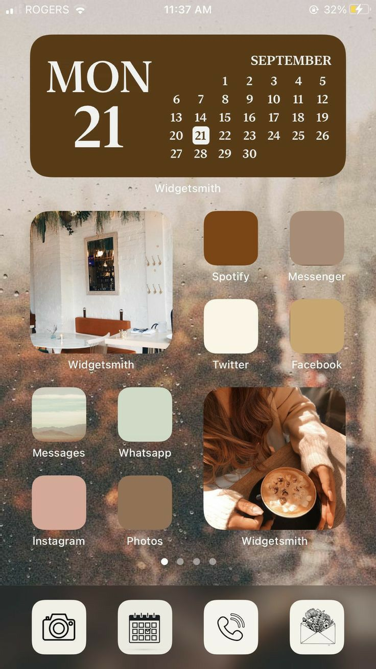 Aesthetic Ios 14 Home Screen