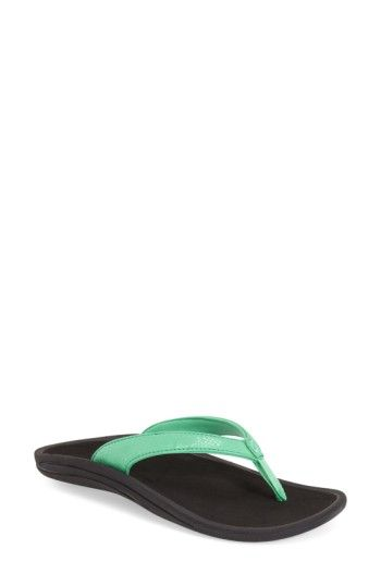 OLUKAI 'KULAPA KAI' THONG SANDAL. #olukai #shoes #