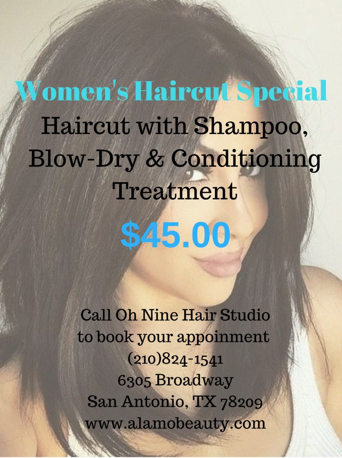 Salon Special Book Your Haircut With Us And Receive A Relaxing