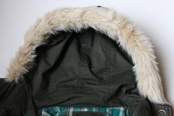 Diy In 5 Faux Fur Lined Hood Chic, Faux Fur Coat Hood Trim