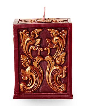 VOLCANICA Burgundy Opulence Quad Candle
