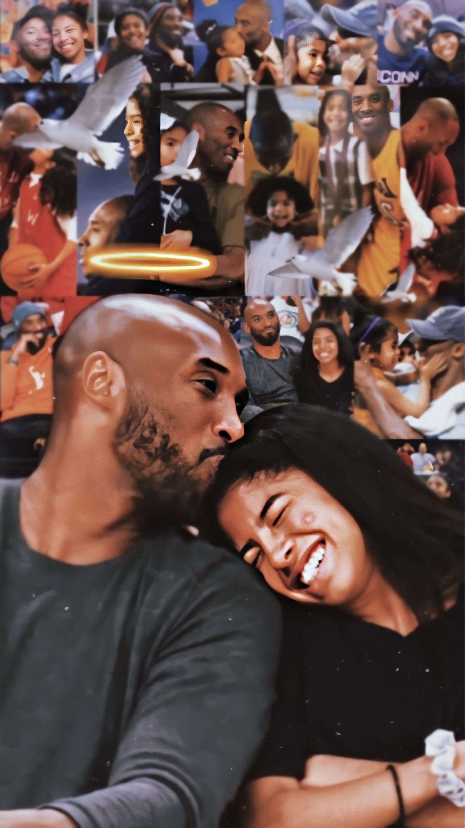 Kobe And Gigi Wallpaper For Mobile Phone Tablet Desktop Computer And Other Devices Hd And 4k Wallpapers In 2021 Kobe Gigi Kobe Bryant Pictures Celebrity Wallpapers Kobe and gigi wallpaper iphone 6s