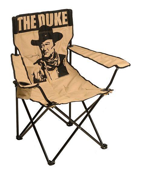 4605f6aa1d0 John Wayne Folding Camp Chair | Gifts for A Guy | Folding camping ...