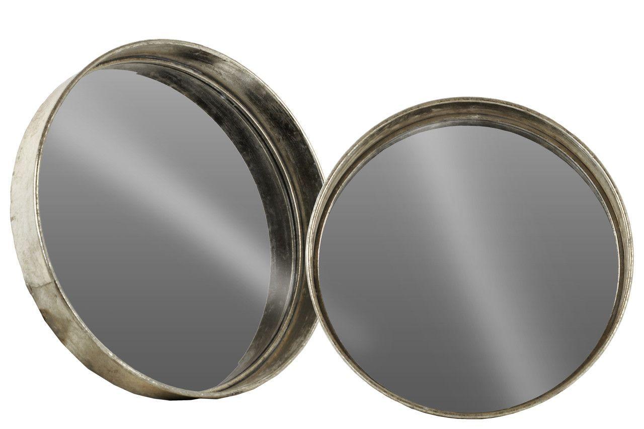 2 Piece Round Wall Mirror Set