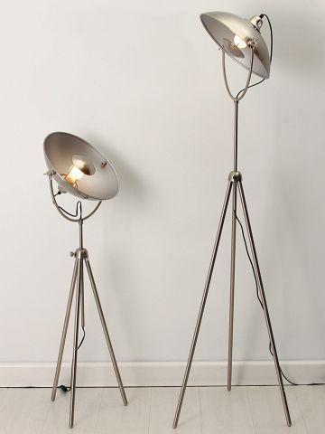 Lámpara de pie vintage industrial